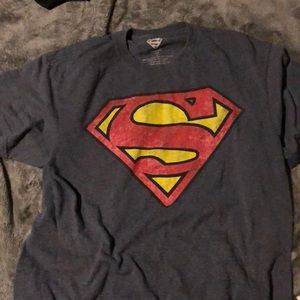 Other - Superman Blue Short sleeve